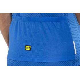 Alé Cycling Solid Vetta Short Sleeve Jersey Men blue-fluo yellow